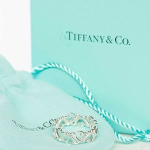 Tiffany & Co. Sterling Paloma Picasso Loving Ring